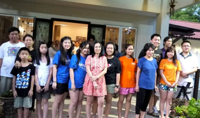 Baptism and annual dinner celebration
