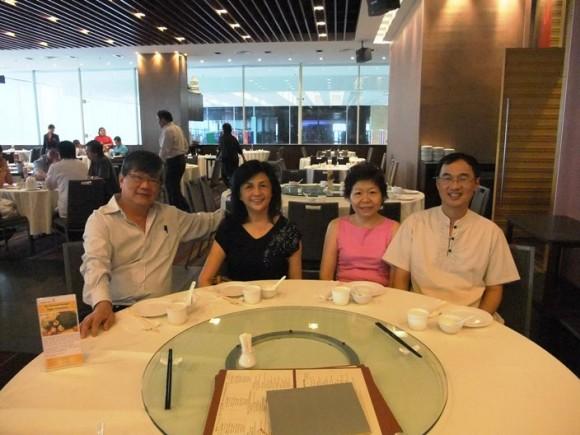 Peter Tze, See Fen, Kenny, Jenny