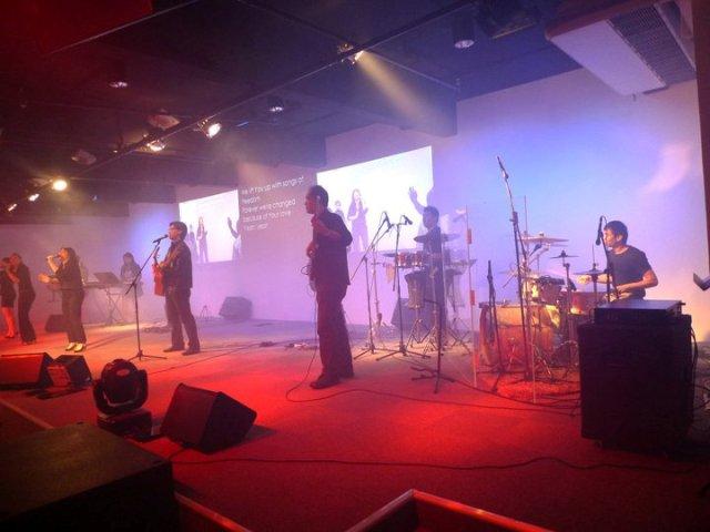 Worship team of tNCC